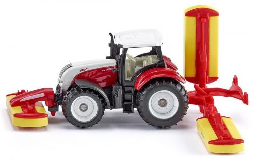 Трактор Steyr с газонокосилкой Poettinger