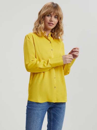 Рубашка с широкими манжетами
