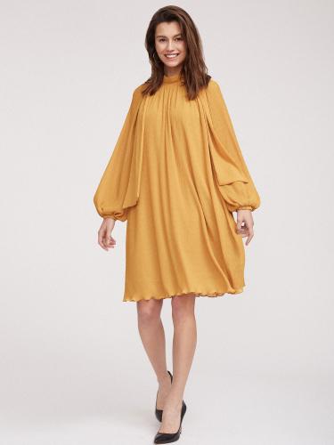 Струящееся платье со съемным поясом