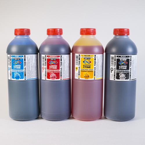 Набор Пищевых чернил inkTime, 4 шт по 0,9 л