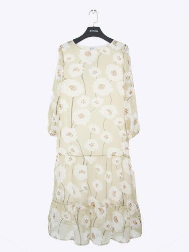 NEW Шифоновое платье с принтом
