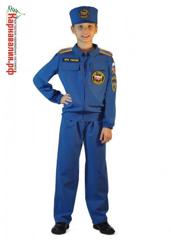 МЧС Спасатель костюм для мальчика