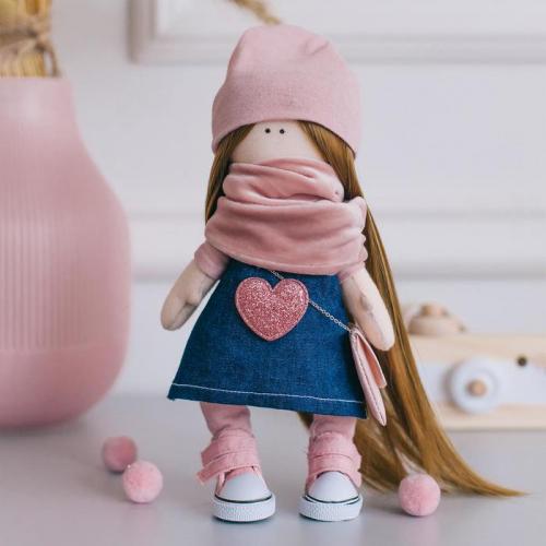 Мягкая кукла Нати, набор для шитья 15,6 × 22,4 × 5,2 см
