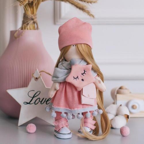 Мягкая кукла Хелен, набор для шитья 15,6 × 22,4 × 5,2 см