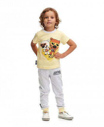 Пижама МИ-МИ-МИШКИ© жёлтая  70-405/желтый