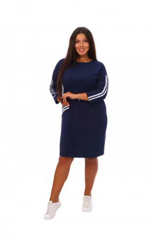 Платье Флоренс (синее)
