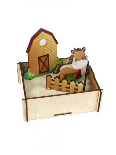 Набор для песка «Ферма», 143204