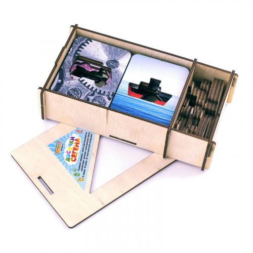 Доски Сегена «Транспорт», набор 18 шт, 068211