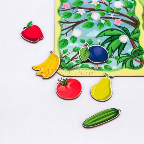 Сортер «Какая разница?», Фрукты-овощи, 117203