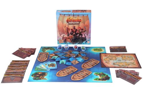 Настольная игра Легенды пиратов (Pirate Legends)