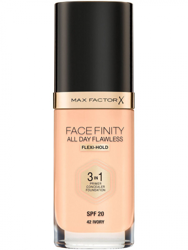MF тон.основа Facefinity All Day Flawless 3-in-1 т.42  ivory