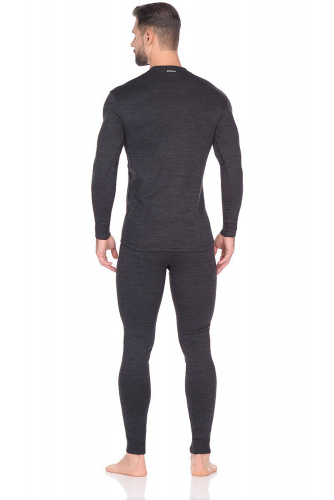 1750р. 4840р. Комплект мужской футболка с длинным рукавом + кальсоны.
