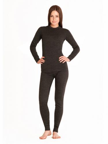 Термобелье женское Wool Protection MCLWPL0102/черный