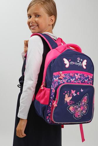 Рюкзак #232080Темно-синий, розовыйТемно-синий, розовый