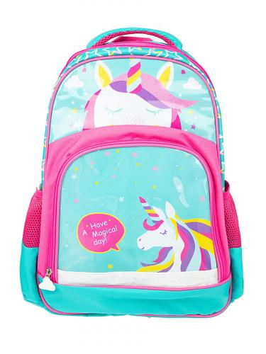 Рюкзак #232088Голубой, розовыйГолубой, розовый