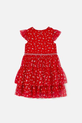 Платье детское для девочек Konkyrs красный. ACOOLA
