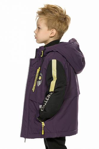 Куртка #233376Коричневый