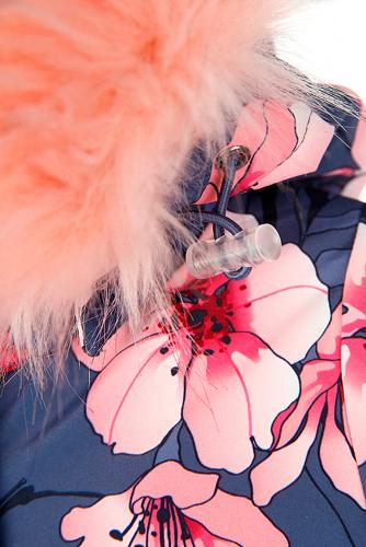 Комбинезон #238686Серый, светло-розовый