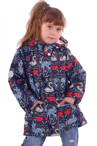 Куртка #166202Синий
