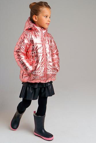 Куртка #238587Светло-розовый