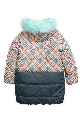 Пальто #97087Бежевый