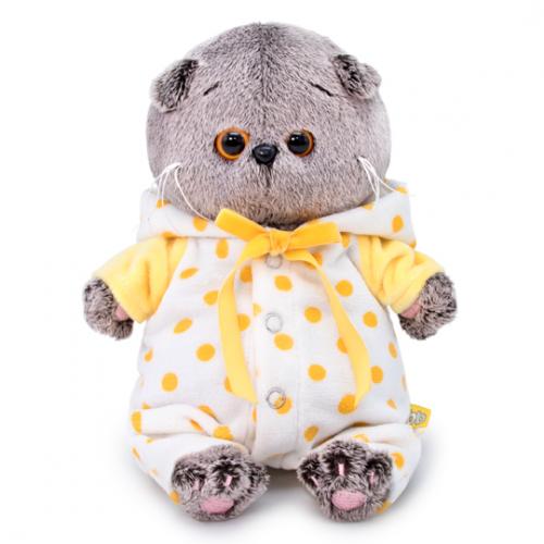 Мягкая игрушка BUDI BASA Басик BABY в комбинезончике 20 см