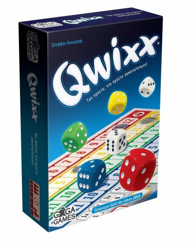 Настольная игра GAGA GAMES Квикс (Qwixx)