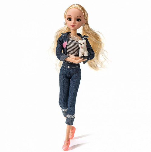Кукла FUNKY TOYS Эмили на прогулке