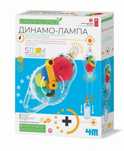 Набор 4M Динамо-лампа