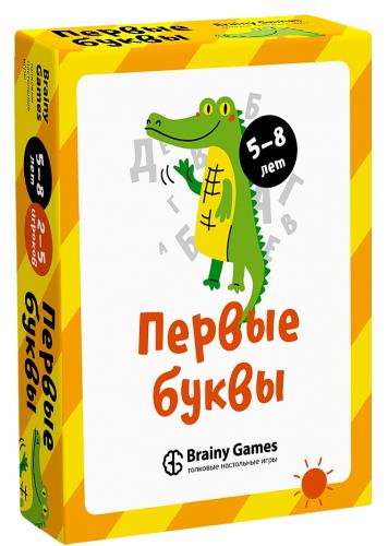 Настольная игра BRAINY GAMES Первые буквы