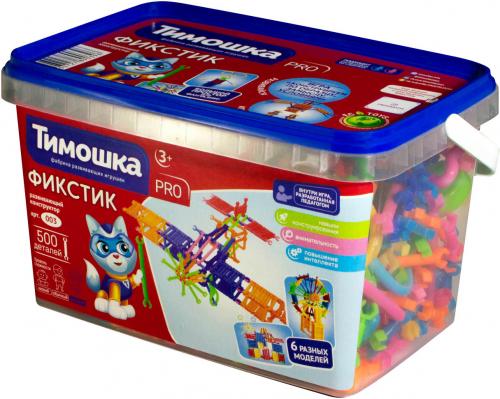Конструктор ТИМОШКА Фикстик 500 деталей