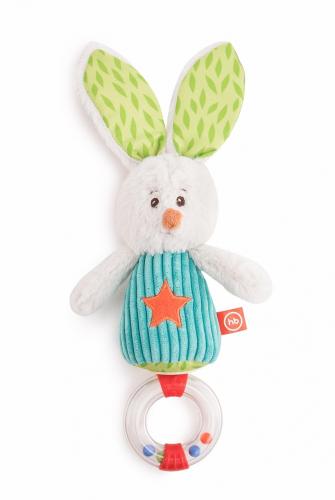 Погремушка HAPPY BABY заяц Макс
