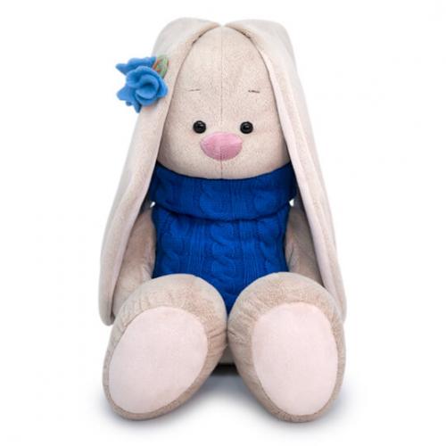 Мягкая игрушка BUDI BASA Зайка Ми Большой в жилетке 34 см
