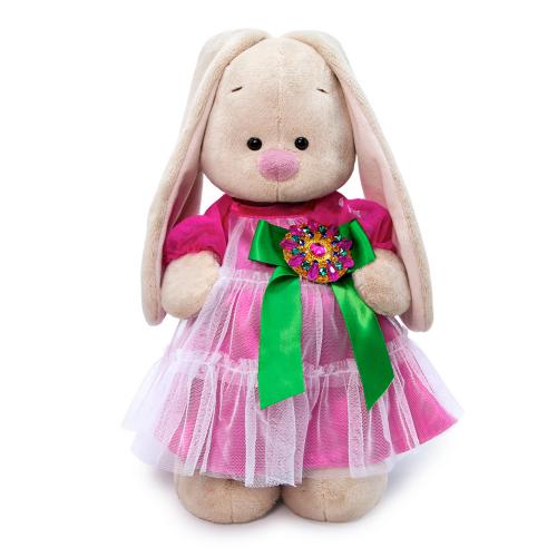 Мягкая игрушка BUDI BASA Зайка Ми Маджентовый сапфир 25 см