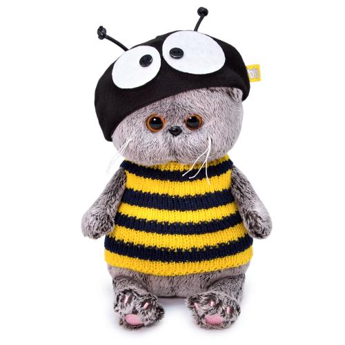 Мягкая игрушка BUDI BASA Басик BABY в костюме пчелка 20 см