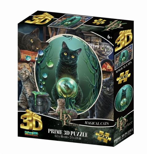 Стерео пазл PRIME 3D Коллаж Кошки