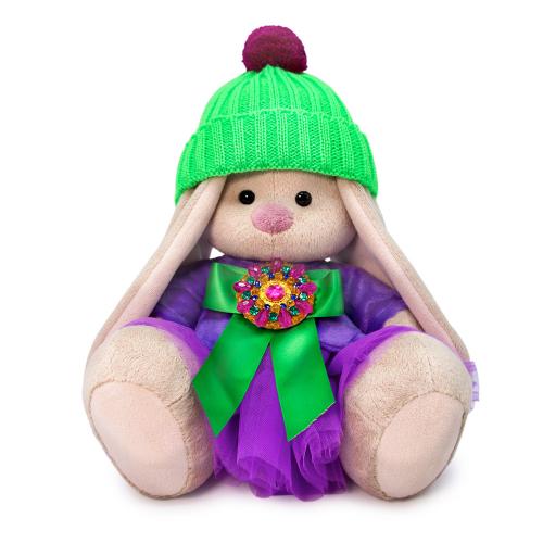 Мягкая игрушка BUDI BASA Зайка Ми Пурпурный александрит 18 см