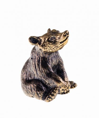 Медведь сидящий без подставки 681.1