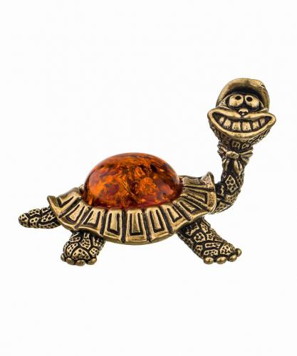 Черепаха в шляпе 302