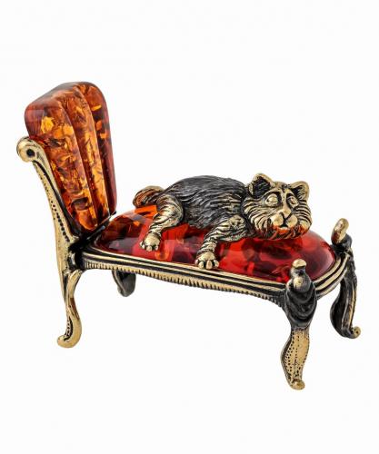Кот на кушетке 1494