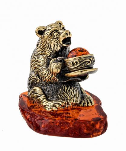 Медведь с чаем 1402