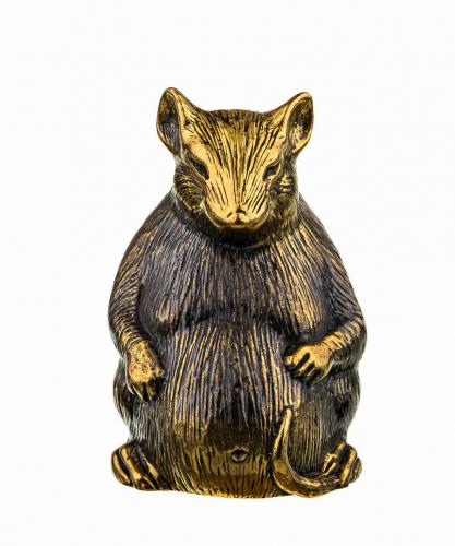 Колокольчик Мышь Пузатый крыс 742