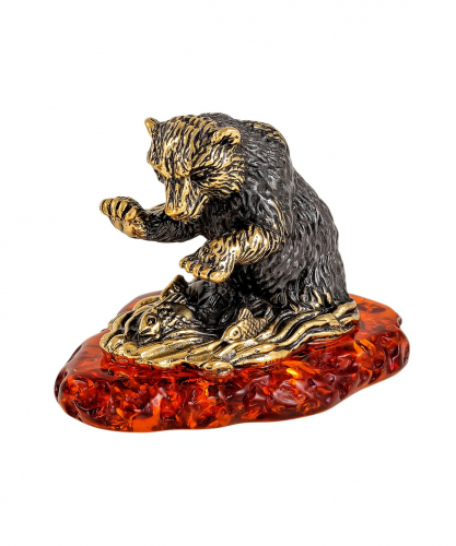 Медвежонок на рыбалке 2253