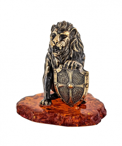 Лев со щитом 1702