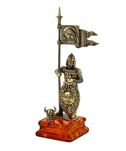 Рыцарь Славянский воин с флагом 1135.2