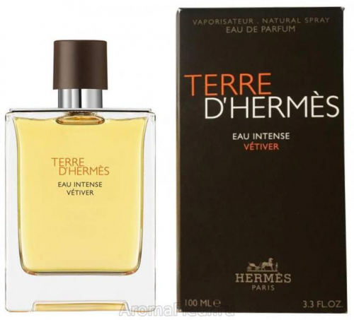 HERMES Terre d'Hermes Intense Vetiver man edp 50 ml NEW