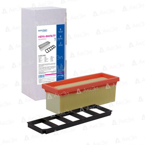 Фильтр складчатый для пылесоса KARCHER, 1 шт., сухая пыль/целлюлоза, бренд: EUROCLEAN, арт. KHPM-SE5100
