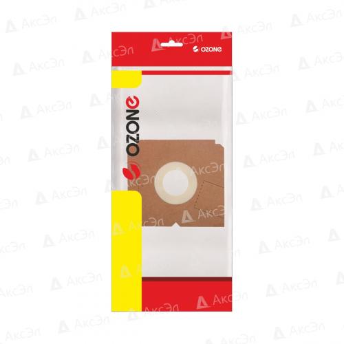 XS-01 Мешки-пылесборники Ozone синтетические для пылесоса, 2 шт
