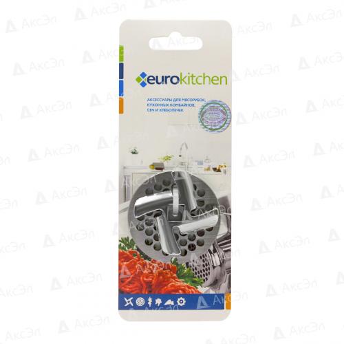 NR1203 Набор нож и решетка Eurokitchen для мясорубки
