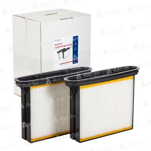Фильтр складчатый для пылесоса BOSCH, 1 компл., многоразовый моющийся/полиэстер, бренд: EUROCLEAN, арт. BGSM-50, код. 2 607 432 017